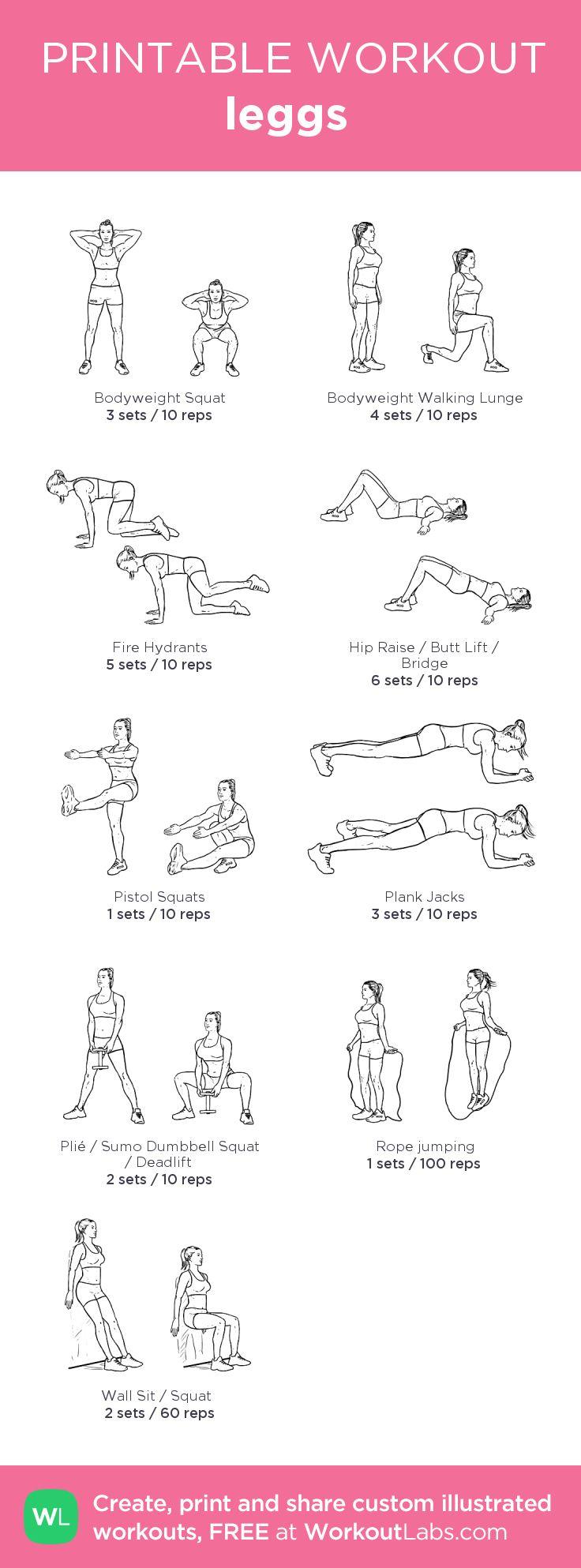 leggs ♥: my custom printable workout by @WorkoutLabs #workoutlabs #customworkout