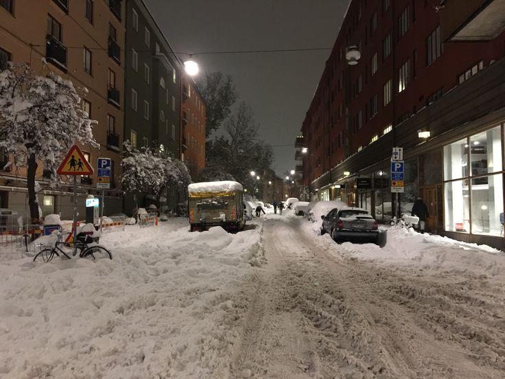 Borgmästargatan, Stockholm. Today