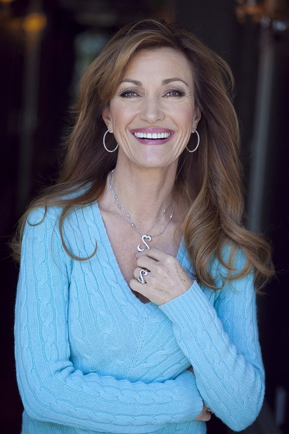 Jane Seymour, beautiful and intelligent, she is caring and helps out in charitable ways!!