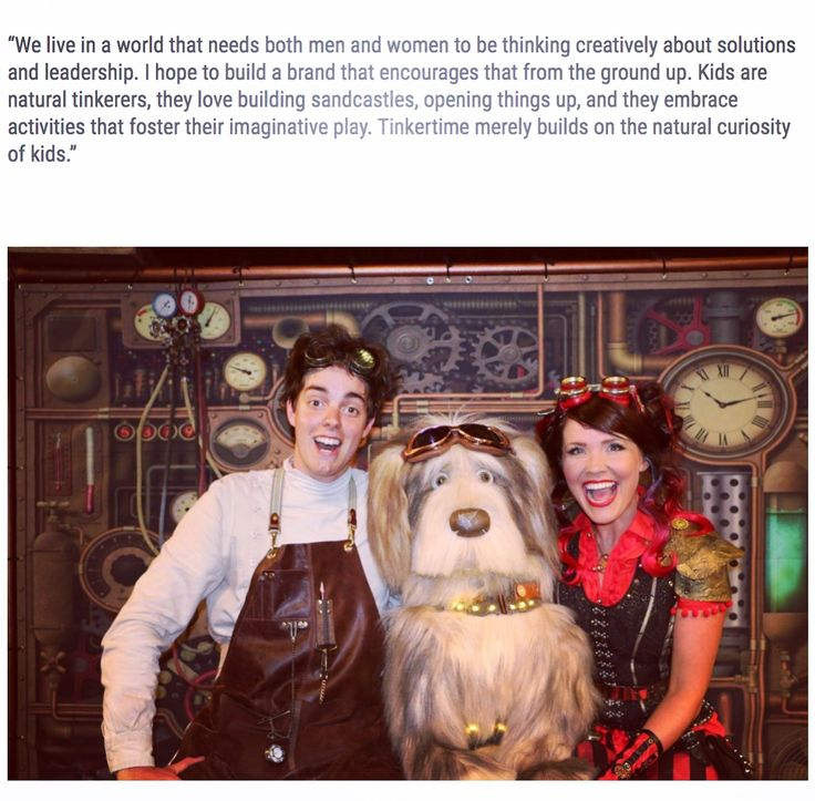 An interesting article with Nay Nay (creator of Tinkertime) and #girlgeekacademy  #tinkering #naynay #steampunk #abckids #youtubekids #stem #steam #tinkertime #preschoolmaths #preschoolscience