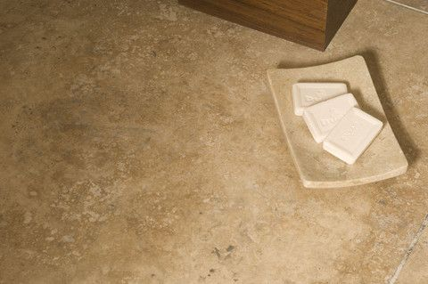 Honed and Filled Travertine