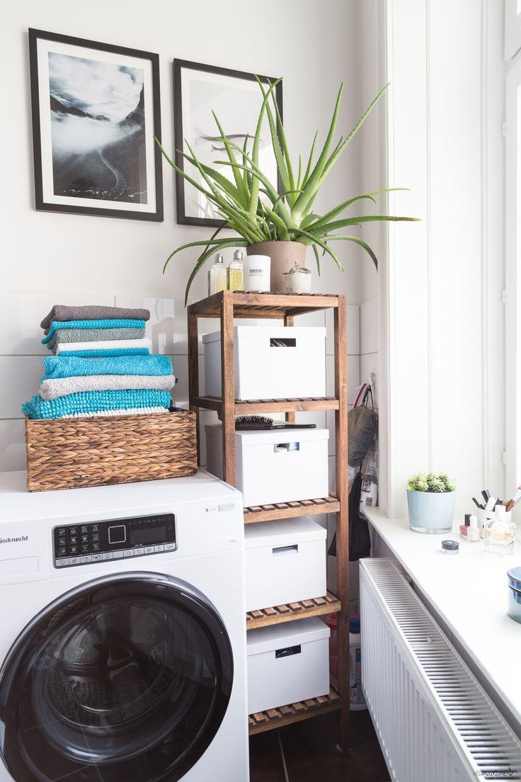 Schnelle Badezimmer-Umgestaltung – und eine neue Waschmaschine – elbmadame