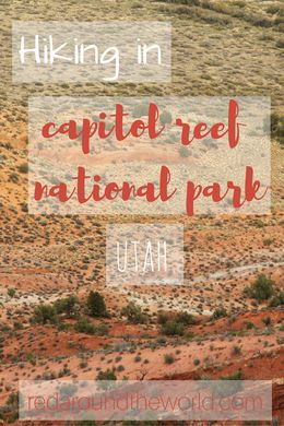 Hiking in Capitol Reef National park is exciting, but so is climbing the reef!  The south end of the park is like a whole different world from the scenic drive.