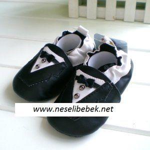 70146 Petit Erkek siyah Takım Elbiseli PatikAyakkabı, Terlik, Patik 20-50 TL