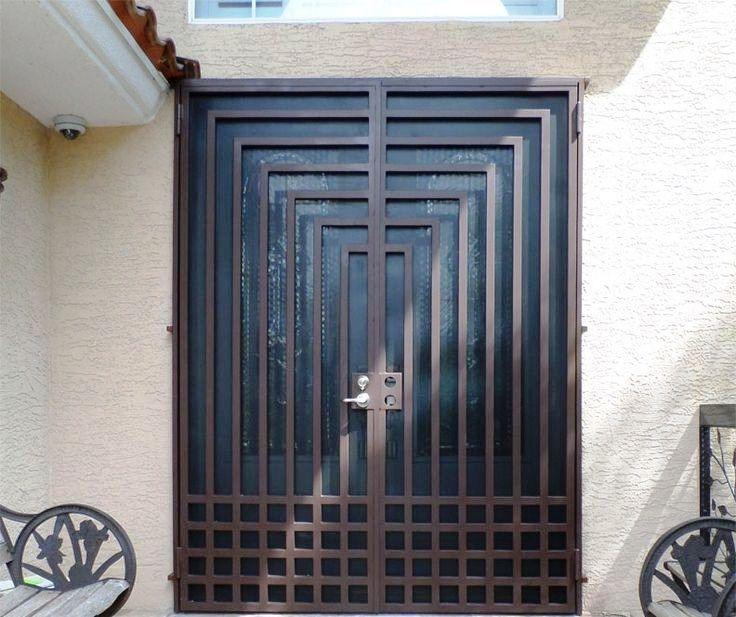 Model Pintu Besi Minimalis Modern Pintu Modern Desain