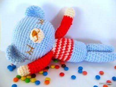 (4) Name: 'Crocheting : Mr.teddy sleepy bear free amigurumi