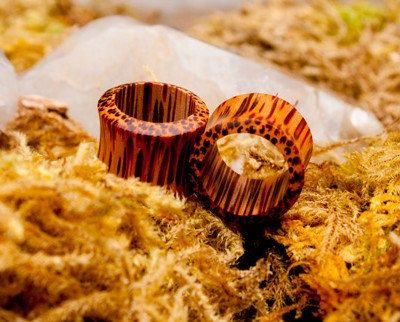 Coco Wood Tunnels 6g (4 mm) 2g (6 mm) 0g (8 mm) 00g (10 mm) 1/2 (12 mm) 9/16 (14 mm) 5/8 (16 mm) 3/4 (18 m) 13/16 (20 m) 7/8 (22 m) 1 (25 m) on Etsy, $14.99