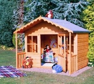 Shire Pixie Playhouse, wooden playhouse for children