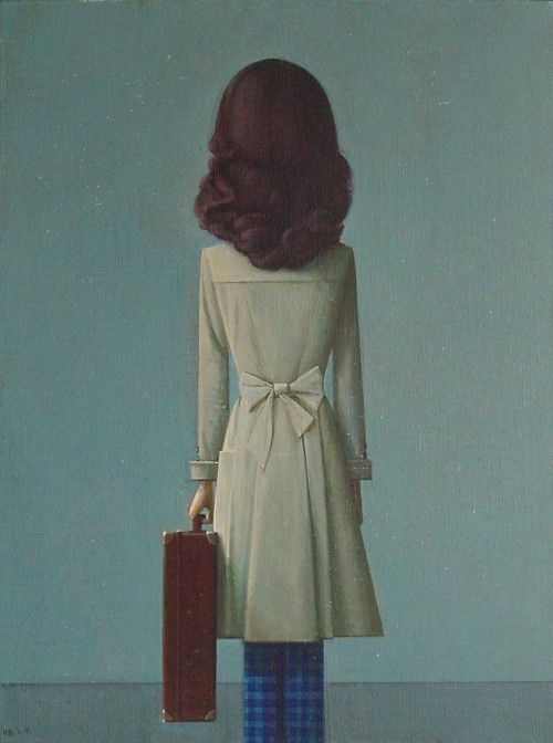 Liu Ye - Chinese Artist - This actually reminds me of me!