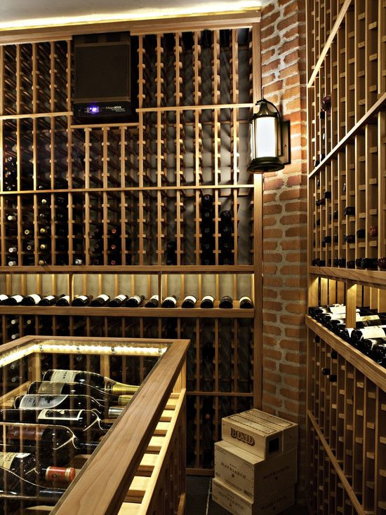 wine cellar... I feel as though... even though I love wine... some of this space would be reserved for liquor... . . . yup