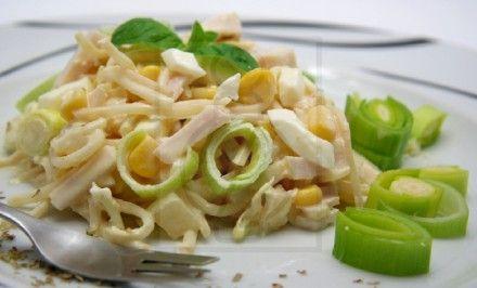 Zelerový šalát s ananásom | Báječné recepty