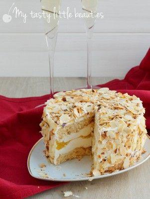 Pfirsich-Sekt-Torte – My tasty little beauties