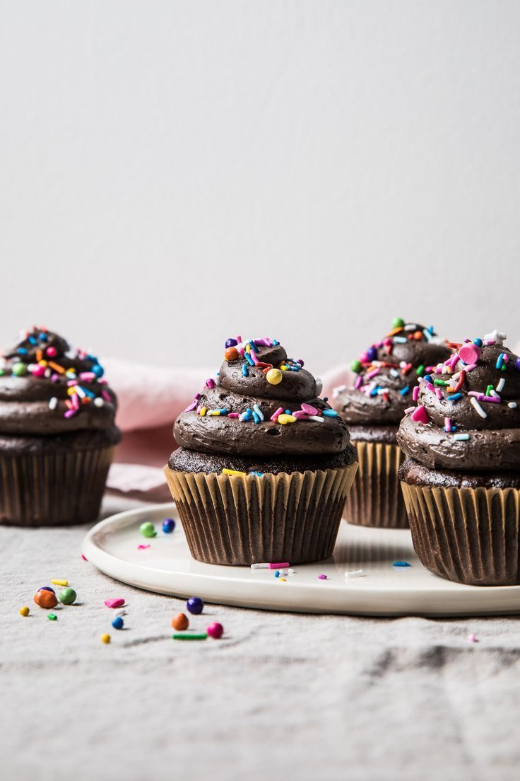Chocolate Buttermilk Cupcakes Flourishing Foodie Homemade Chocolate Buttermilk Cupcakes Cupcake Recipes