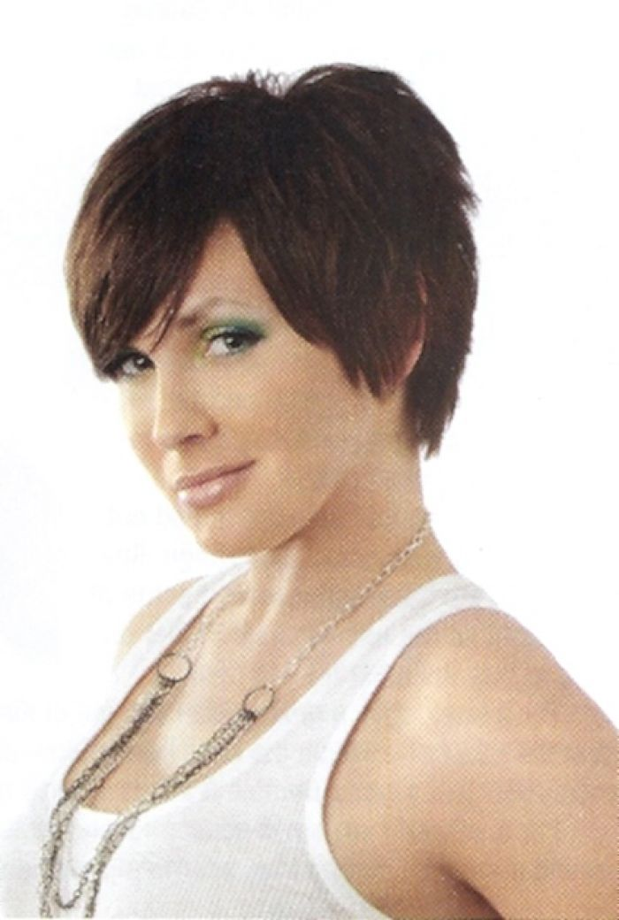 hair back styles shaggy layered pixie haircut pictures front side and 8439