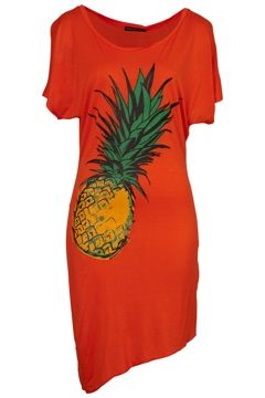 Living Doll Pineapple Crush Beach Dress