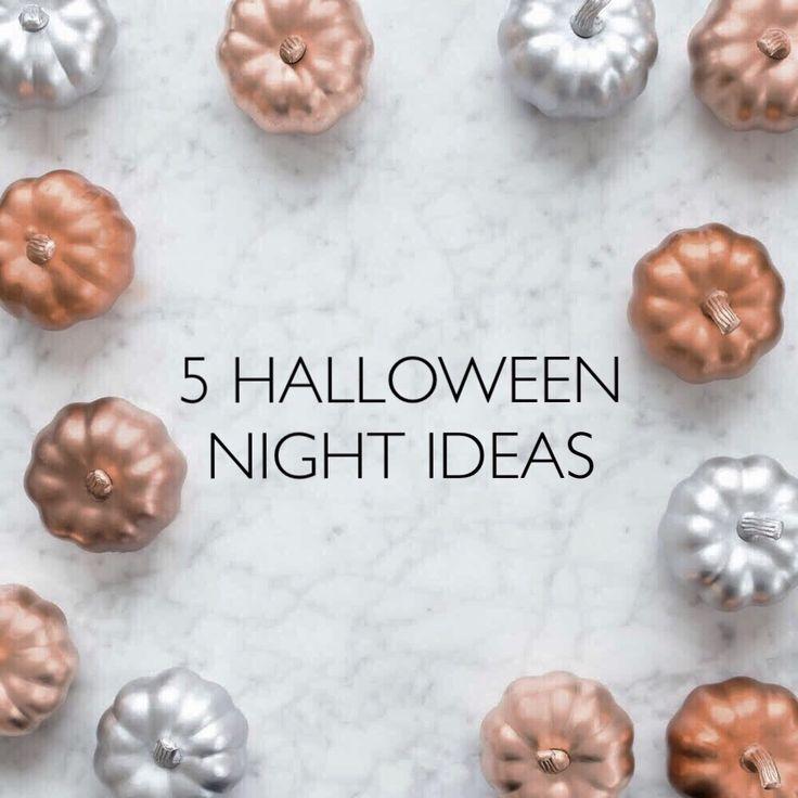 5 Halloween Night Ideas!