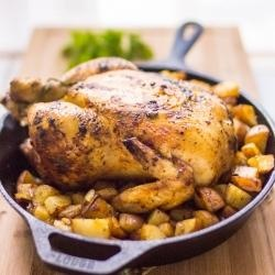 200343 - Paprika Roasted Chicken Potatoes Recipe | CHICKEN LIKIN ...