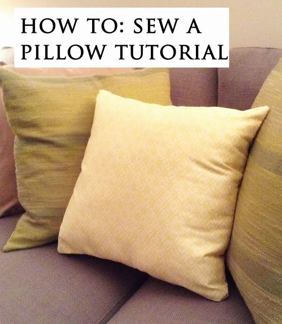 DIY Sew: Decorative Couch Pillow My DIY Projects Completed! Pinterest Couch pillows ...