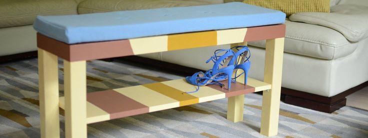 DIY lavica, na mieru šitá pre Váš interiér!