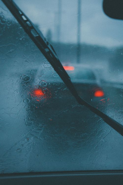 """"""" Driving in the Rain ~ By Louis Hvejsel Bork """""""