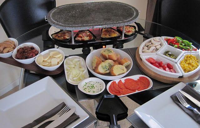 Raclette Dinner Party – Rezeptideen   – Pin Through