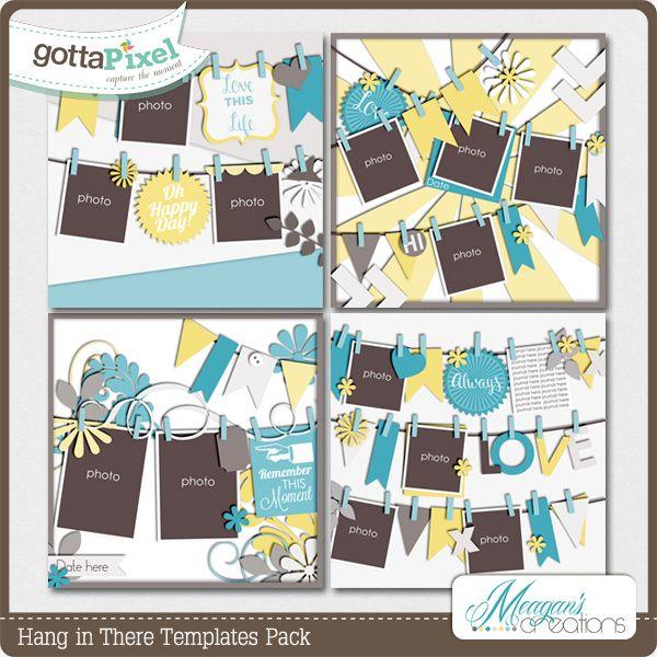 picture hanging template kit - 68 best digital scrapper kits images on pinterest
