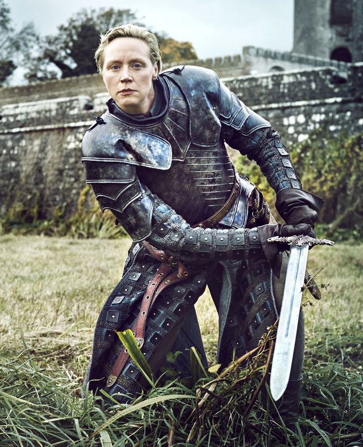 "Game of Thrones S6 Gwendoline Christie as ""Brienne of Tarth"""