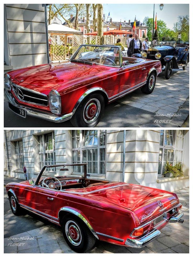 Mercedes-Benz Pagode ... Mercedes 230 SL ... de 1963 à 1971. Bonsoir :-)  Les Mercedes-Benz Pagode (nom de code interne : W113) sont des modèles d'autom... - Jean-Michel Floret - Google+