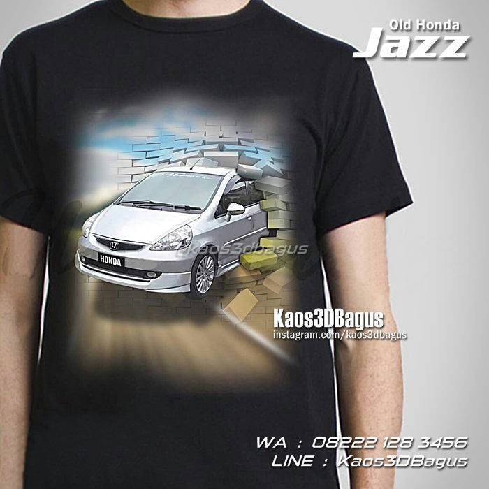 Kaos HONDA JAZZ, Kaos MOBIL JAZZ, Kaos3D, Honda Jazz Indonesia, Kaos Klub Honda Jazz, https://kaos3dbagus.wordpress.com, WA : 08222 128 3456, LINE : Kaos3DBagus