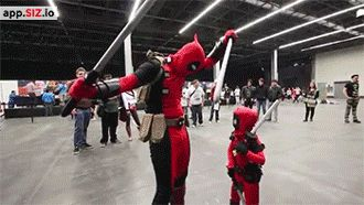 Deadpool Vs Deadpool Junior -who will win lol :p