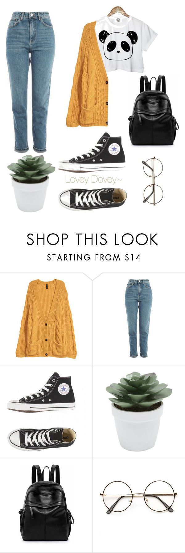 """""""Panda OutFit {Redesigned 2018}"""" by peachesforpillows on Polyvore featuring Retrò, Topshop and M&Co"""