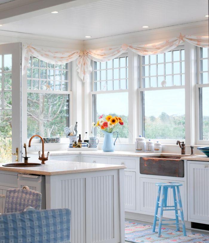 Fensterdeko Küche Fensterdekoration Fenster Dekorieren