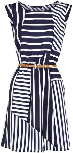 Cute navy dress!