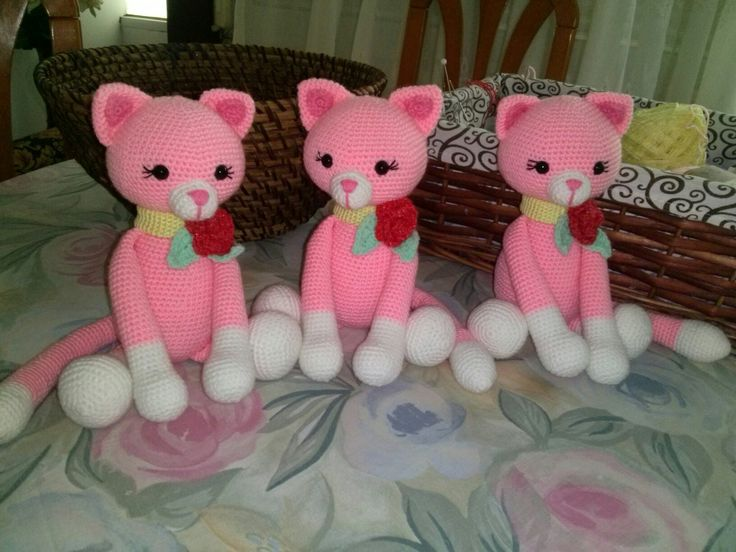 My pink cats!!