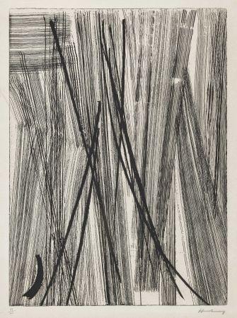 Pointe-sèche - Hans Hartung - R22
