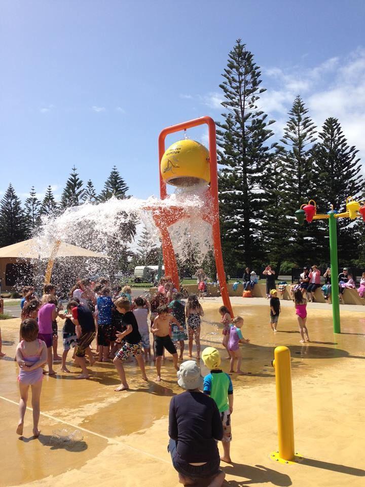 New #splashpark opened at BIG4 Adelaide Shores Caravan Park on Thursday 3rd October, 2013