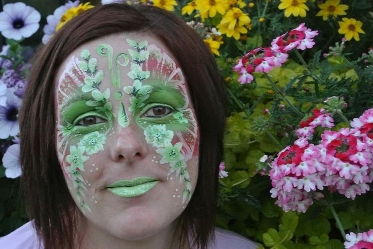 My green Butterfly - trying to do them - one day I will master Butterflies - may be...