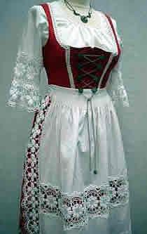 German traditional dress. This is so pretty....I would wear it today if I had it !!