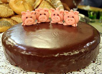 Schokolade-Rotweinkuchen