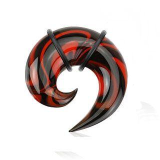 Swirl Pattern Spiral Pyrex Glass Spiral - Pierce of Mind