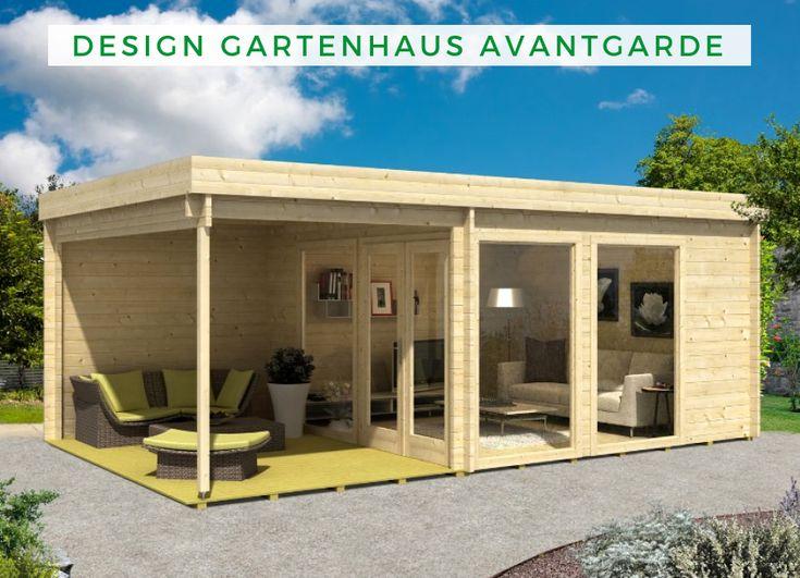 Design Gartenhaus Avantgarde44 Gartenhaus holz, Design