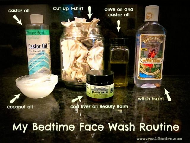 My Bedtime Face Wash Routine - Real Food RN
