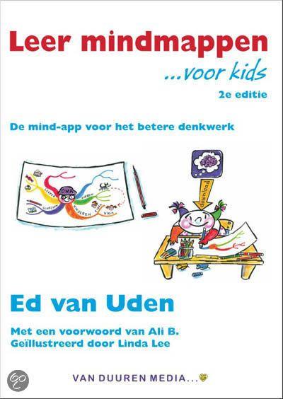 Leer mindmappen voor kids -  In dit boek leer je hoe je een mindmap maakt, en hoe die je helpt om makkelijker te werken en te leren. En wat misschien nog wel fijner is: mindmappen is leuk!