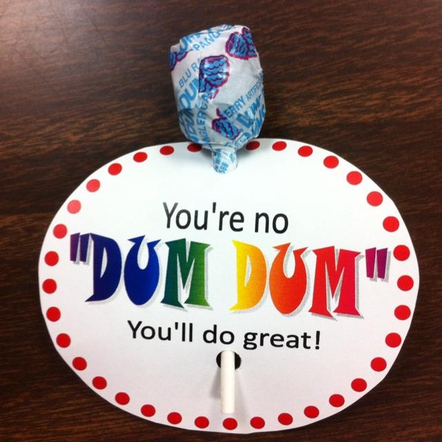 Dum Dum pops daily give-away idea | Testing Motivation ...