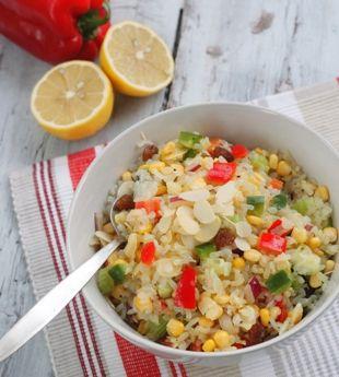 Sensational Low Calorie Rice Salad