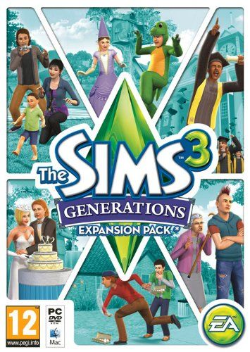The Sims 3 - Generations Expansion Pack (PC/Mac DVD) - http://www.cheaptohome.co.uk/the-sims-3-generations-expansion-pack-pcmac-dvd/