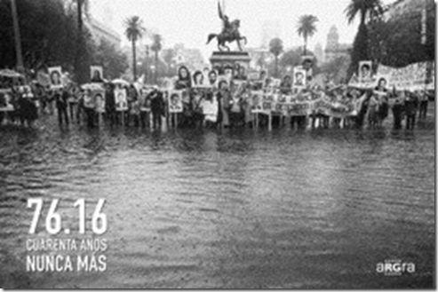ARGRA realiza una muestra urbana a 40 años del golpe cívico-militar – ADN