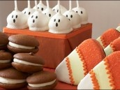 Yummy Halloween Treats: Holiday, Sweet, Cake Ball, Food, Cake Pops, Halloween Treats, Party Ideas, Halloween Party