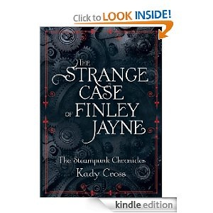 my first steampunk book: Strange Cases, Worth Reading, Remark Violent, Book Worth, Finley Jayne, Kadi Crosses, Lose Time, Normal Girls, Steampunk Chronicles