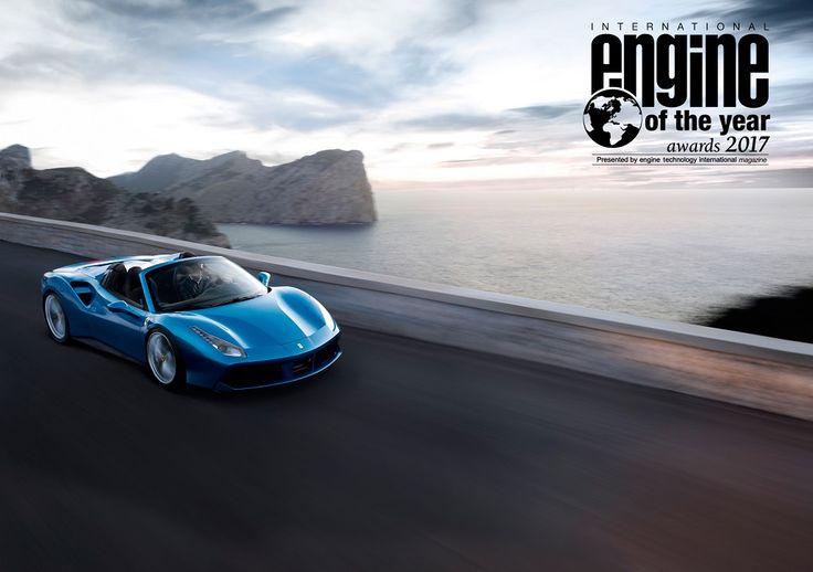 A Ferrari turbós V8-asa lett az év motorja